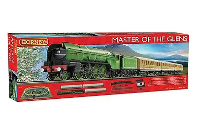 Hornby R1183 OO Master of the Glens Electric Hobby Model Railway Train Set