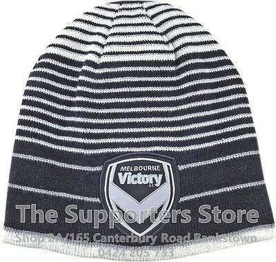 Melbourne Victory A League Official Vortex Reversible Embroidered Beanie!