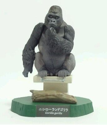 RARE Kaiyodo Higashiyama Zoo Mountain Gorilla Ape Limited Exclusive Figure Model