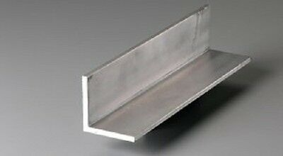 """1 mm Thick 6061 Aluminum Angle 1"""" x 1"""" x 48"""""""