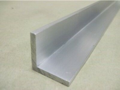 """2 Piece Combo : 1 mm Thick 6061 Aluminum Angle 1"""" x 1"""" x 18"""""""