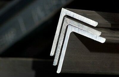 """1"""" x 1"""" x 18""""-Long 6061 Aluminum Angle 1 mm Thick"""