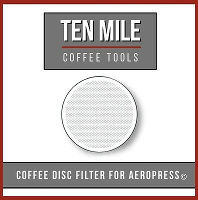 NEW Ten Mile Stainless Steel AeroPress Filter Coffee