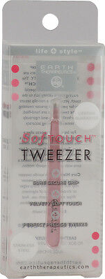 Softouch Tweezer Pink, Earth Therapeutics, 1 piece