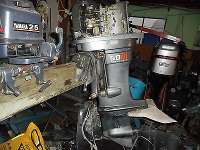 Mariner Outboard 50 Hp  4 Cylinder Wrecking,all Parts Available