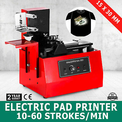 Electric Pad Printer Printing Machine T-Shirt Oil Ink Ball Pen Trademarks Good