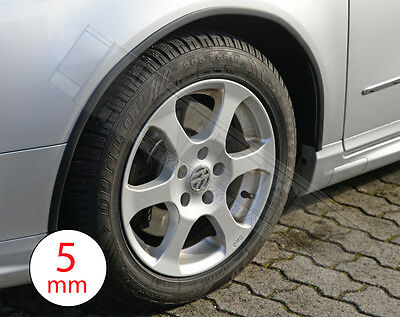 Universal Wheel Arch Extensions Trims 5 mm 5mm made of Rubber SUV Pick-Up