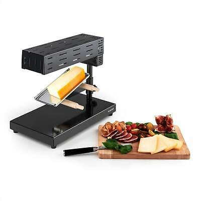 Klarstein Appenzell Raclette Piastra Raclette Tradizionale 600 W Formaggio Fuso