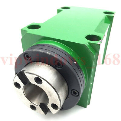 BT30 Milling Cutting Power Head 7:24 Taper Tool Spindle Power Unit Drilling