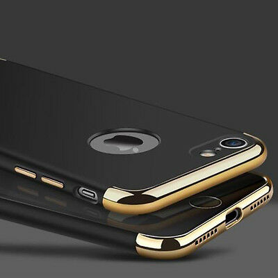For iPhone 7 Plus Ultra-thin Shockproof Full Protective Hard Back Case Cover