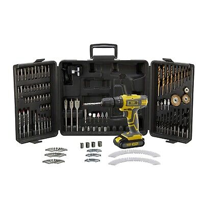 Universal 205 Piece Drill Bit Set | Quality Drilling Wood Masonry Bits Tool Case