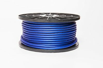 6 Metres 8 Awg Gauge 10Mm² Blue Power Cable Audio 6 M High Quality