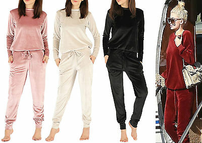 New Kids Girls 2 Piece Velvet Jogger Loungewear Girls Tracksuit 6-13 Years
