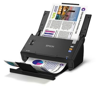 Epson WorkForce DS-520 A4 Sheet-Fed USB Color Document Scanner+Duplexer+ADF