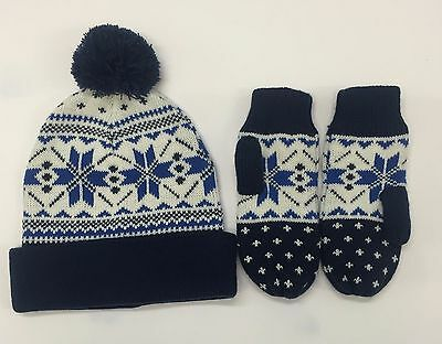 Boys Christmas Hat and Gloves NBB00184