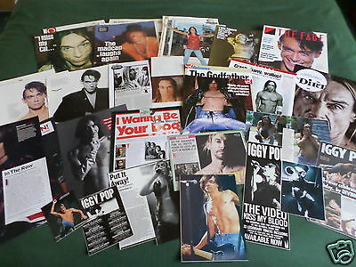 """Iggy Pop-Music- """"clippings /cuttings Pack"""""""