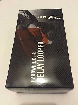 DigiTech HardWire DL-8 Delay/Looper Guitar Effects Pedal Brand New Dl8 Dl 8