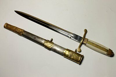 WWII Bulgarian Army Officer Parade Dagger Dirk