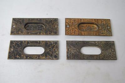 Antique 4 Eastlake Iron Window Or Door Pulls