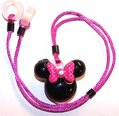 Child's 2 sided Hearing Aids safety Leash loss RETAINER CORD CLIP DOT BOW MOUSE