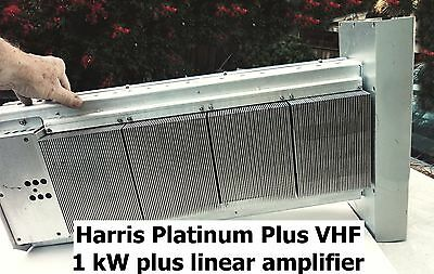 1 kW+ output 50-90 MHz linear amplifier, from Harris TV transmitter.