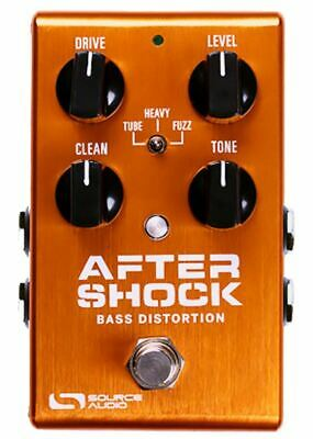 Source Audio One Series AfterShock Bass Distortion pedal