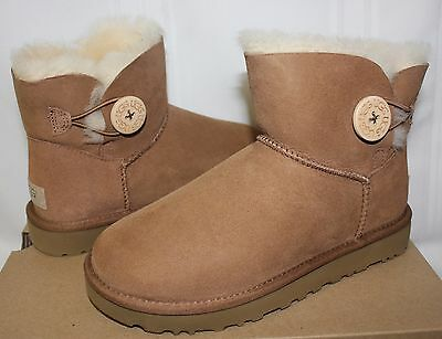 f3a397d5ceb UGG WOMEN'S CAM II Clog Boots Chestnut Suede 1013599 New with Box ...