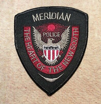 MS Meridian Mississippi Police Patch