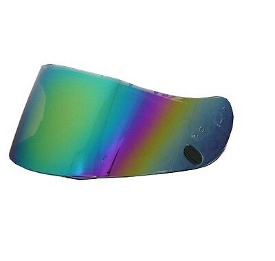 HJC CL-17 CL-16 CL-15 HJ-09 RST-Mirrored Rainbow Helmet Replacement Shield Visor