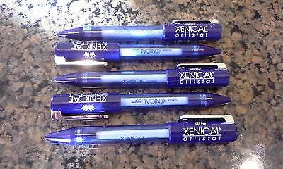 (5) Pharmaceutical Drug Rep Xenical – Stubby Style – Pen