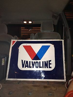1970's Valvoline Oil Sign