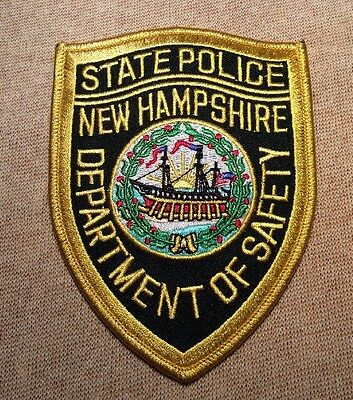 NH New Hampshire State Police Patch