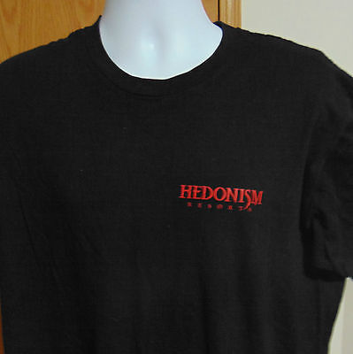 Hedonism Resort T-Shirt Large short sleeves