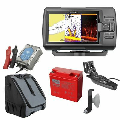 Garmin Striker 7dv échosondeur avec DownVü Portable Set-1