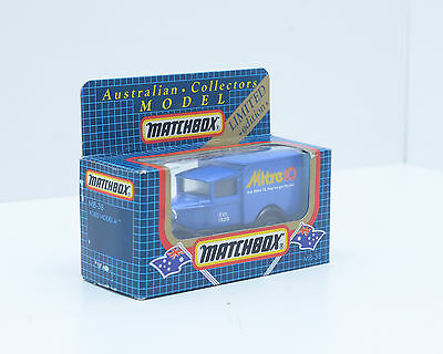 """Matchbox MB-38, Model A Ford, """"Mitre 10"""" in Excellent Condition, 2213"""