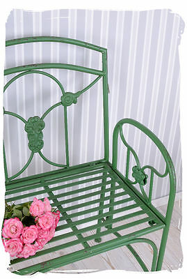 Vintage Chair Iron Garden Chair Antique Style Belle Epoque Garden Seat