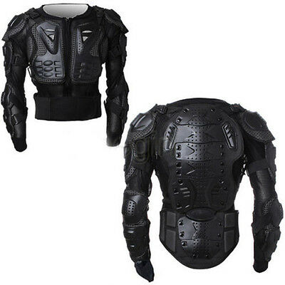 Motorcycle Motocross Racing Full Body Spine Chest Protective Gear Armour Jacket