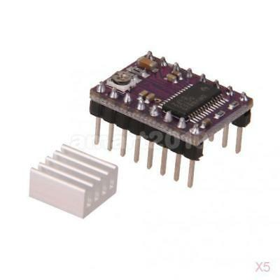 5pcs DRV8825 Driver Module Stepper Motor Board Over-current Protection