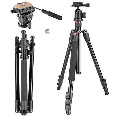 "Neewer Tripod Monopod 62"" with 1/4"" Quick Release Plate&Tripod Head"