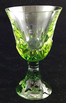 St Louis Crystal Renaissance Chartreuse Burgundy Wine GREAT CONDITION