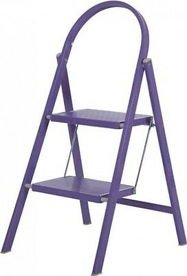 Abru Step Stool 2 Tread Purple