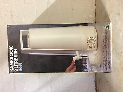 Kambrook Electric 8 Litre Hot Water Urn K6W White