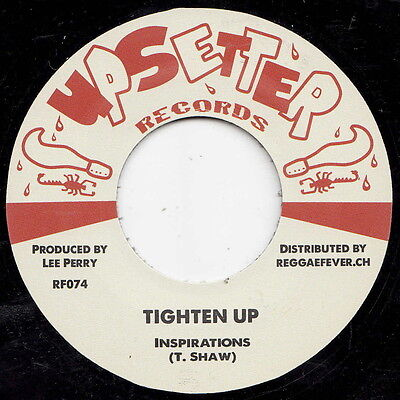 ** The Inspirations  Tighten Up  Lee Perry Produced Boss Reggae Anthem!!