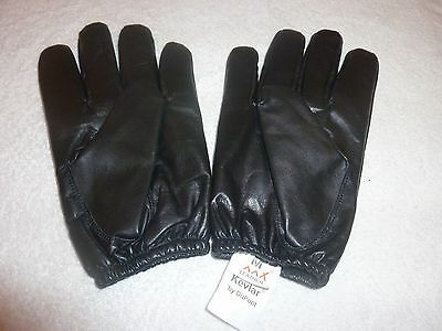 Kevlar Lined Premium Leather Gloves Ideal For Police,military,sia Requirements