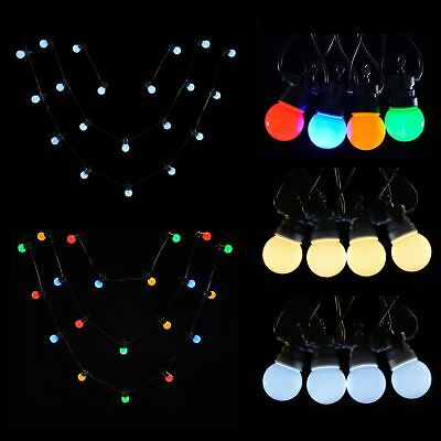 20 Connectable LED Garden Party Wedding Christmas Indoor Outdoor String Lights