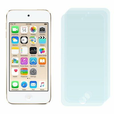 2 x Screen Protectors for Apple iPod Touch 6 6G 6th Gen - Clear Guard Cover Film