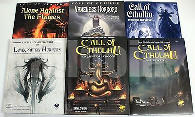 The Call of Cthulhu 7th Edition HANDBOOKS SOURCEBOOKS SCREEN ADVENTURES Chaosium