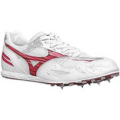 Mizuno Osaka Track and Field Distance Athletics Shoes Spikes White UK 12   006