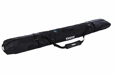 Thule RoundTrip Single Ski Carrier Luggage Carry Bag Black