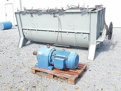 100 Cu Ft Ribbon Mixer - Carbon Steel - Ribbon & Paddles - Jacketed- 12995